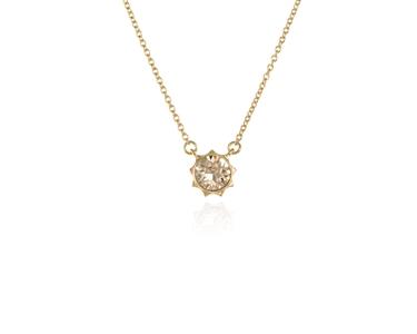 818d2a0b6 Cachet Swarovski Crystal Forget me not Spring Bangle Gold :: Cachet ...