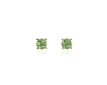 Cachet Swarovski Crystal  Laine Pierced Earrings Gold Peridot