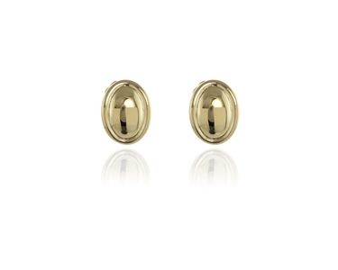 Swarovski Crystal  Vega Clip Earrings  | Gold Polished