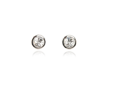 Cachet Swarovski Crystal  Rocio Pierced Earrings Rhodium