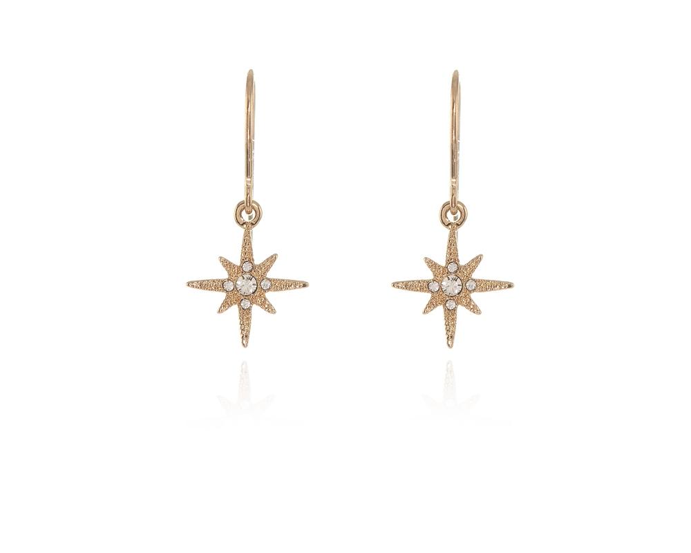 Cachet Swarovski Crystal North Star Earrings Earrings Gold    Cachet ... ed9c63895f