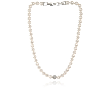 Cachet Swarovski Crystal  Peyton Necklace Rhodium
