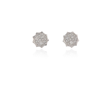 Cachet Swarovski Crystal  Taigi Pierced Earrings Rhodium